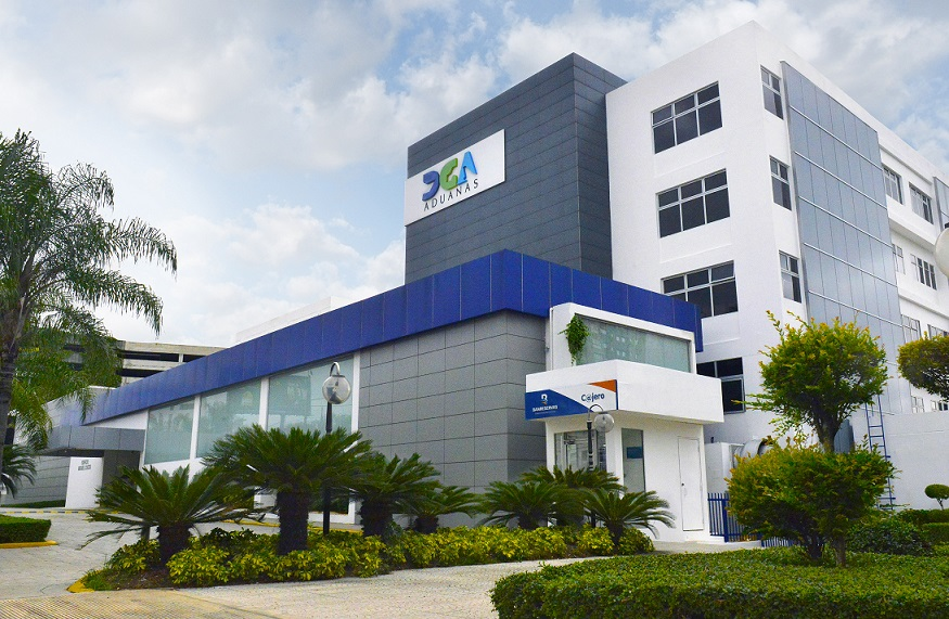 Dirección de Aduanas edificio sede.