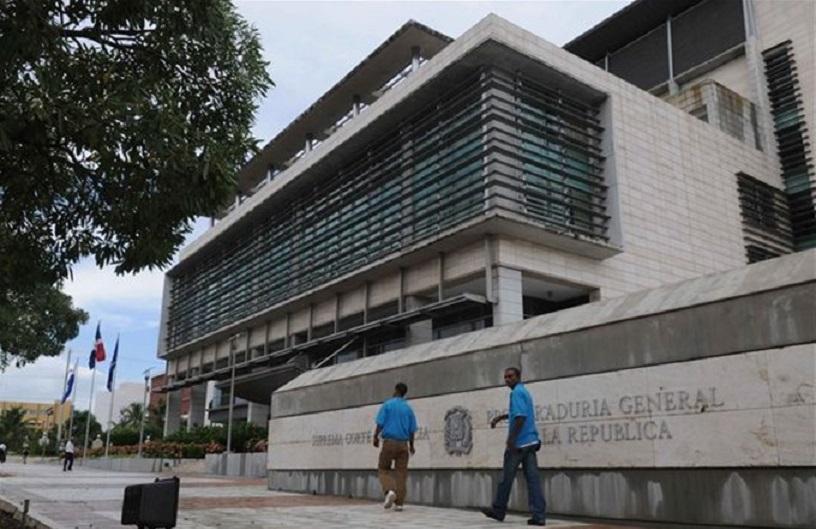 Procuraduría y Suprema Corte de Justicia sede.