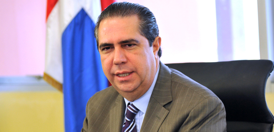 Francisco Javier García, ministro de turismo y miembro CP del PLD.