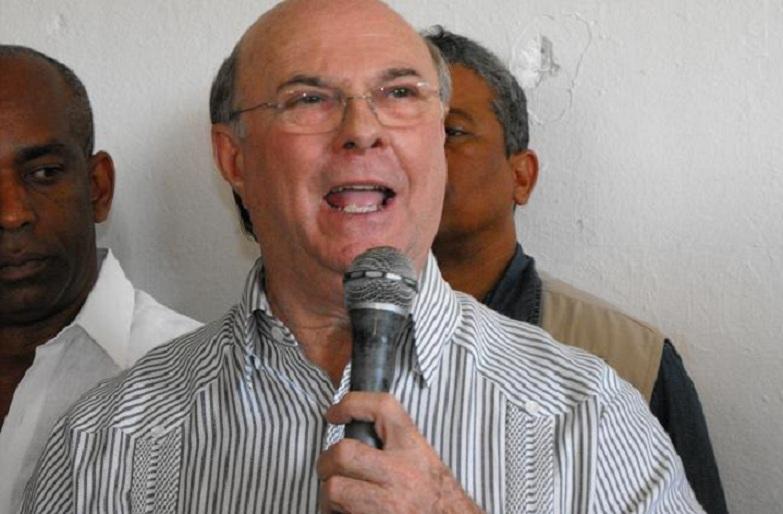 Hipólito Mejía precandidato PRM envía mensaje a agricultores.