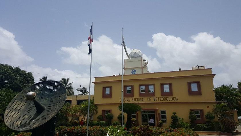Sede de la Oficina Nacional de Meteorología (Onamet).