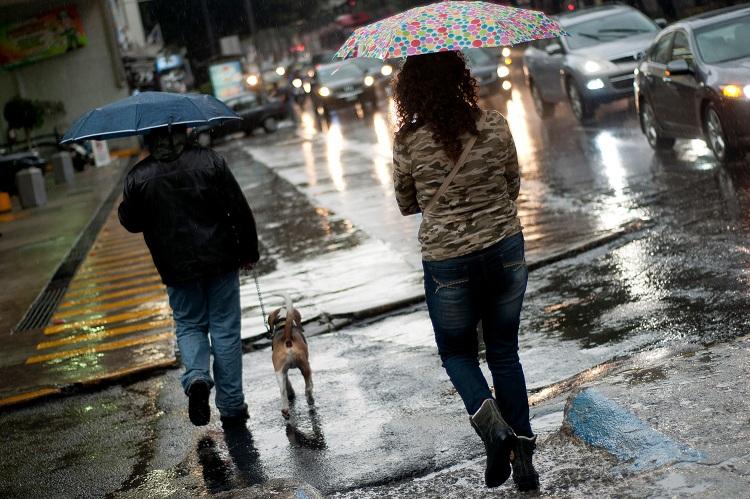 Lluvias Onamet Santo Domingo algunas provincias.