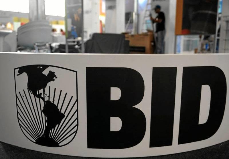 Logo del Banco Interamericano de Desarrollo (BID).