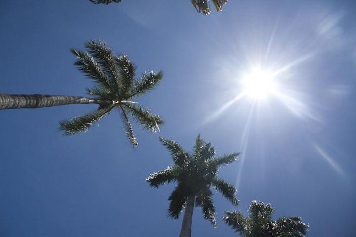 Día soleado en República Dominicana.