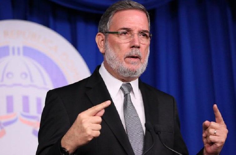 Roberto Rodríguez Marchena vocero de la Presidencia de la República.