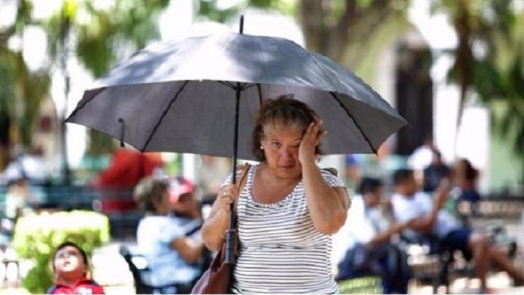 Temperaturas Calurosas huracán Dorian categoría 2.