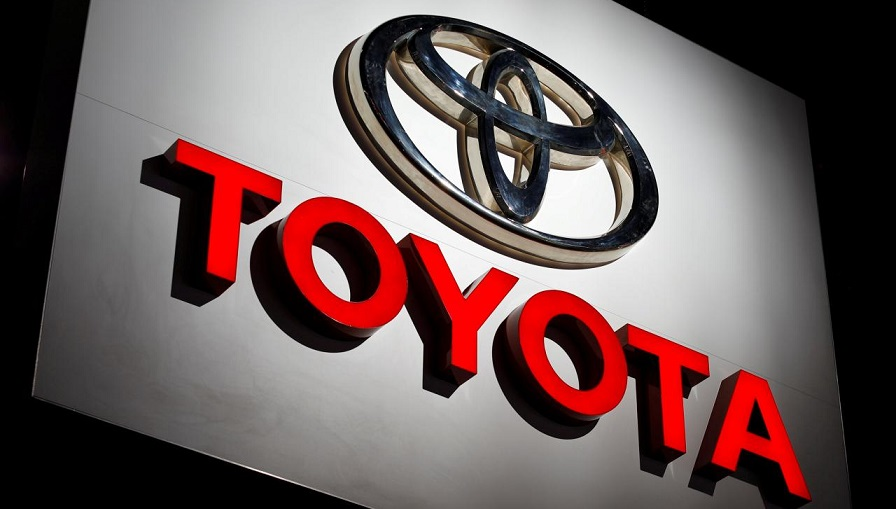 Logo de la marca Toyota.