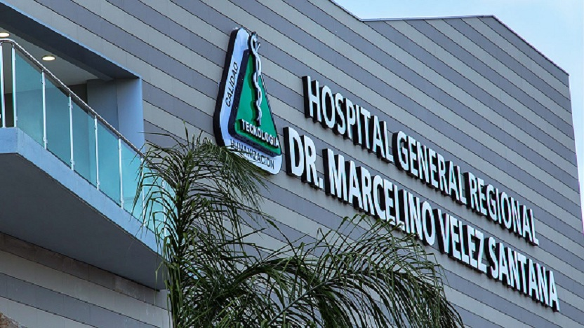 Hospital Marcelino Vélez Santana facha.