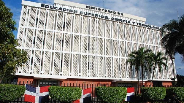 Ministerio de Educación Superior (MESCYT), sede.