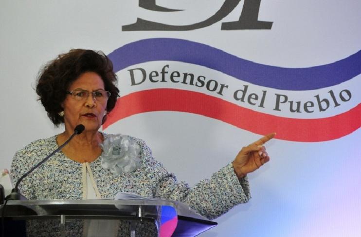 Zoila Martínez Defensor del Pueblo.(Foto externa)