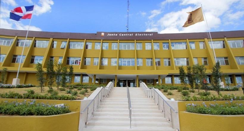 Junta Central Electoral JCE fachada.