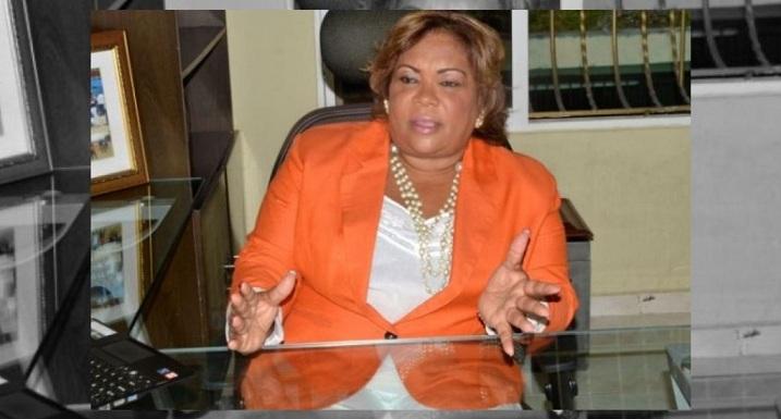 Lucrecia Santana dirigente PRM.