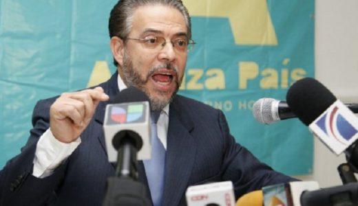 Guillermo Moreno presidente Alianza País.