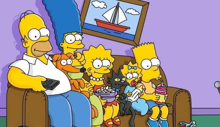 Imagen de la familia Los Simpson.