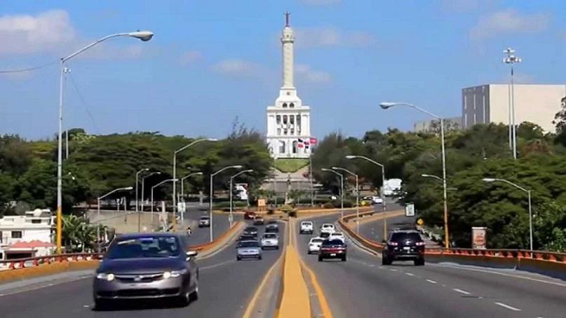 Tránsito en la ciudad de Santiago de los Caballeros.