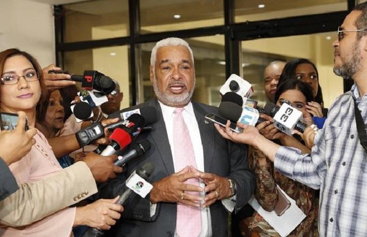 Radhamés Camacho presidente de la Cámara de Diputados.