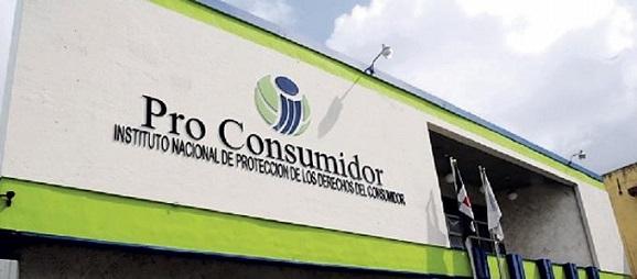 Logo de la entidad Pro Consumidor.(Foto externa)
