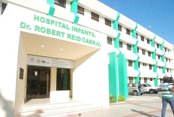 Fachada del Hospital Infantil Robert Reid Cabral. (Foto: externa)