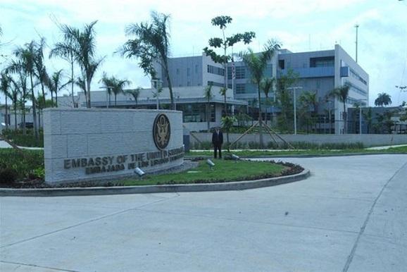 Sede de la embajada de EE.UU. en República Dominicana