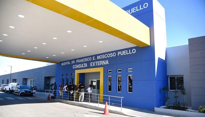 Hospital Francisco Moscoso Puello remodelado.