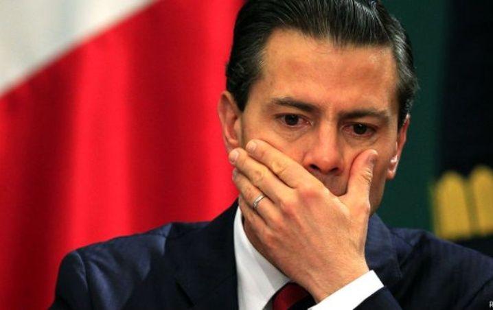 Enrique Peña Nieto expresidente de México.