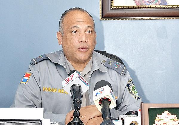 Coronel Frank Durán Mejía, director comunicaciones PN.