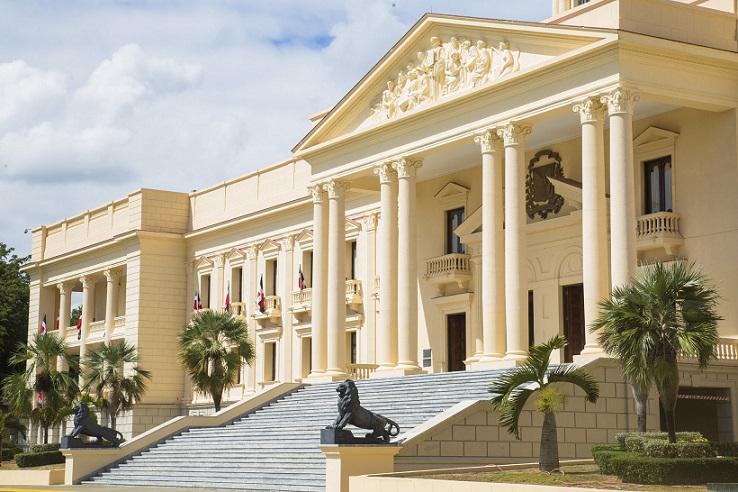 Palacio presidencial de República Dominicana.