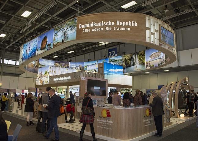 Banreservas presenta propuesta en feria ITB Berlín.