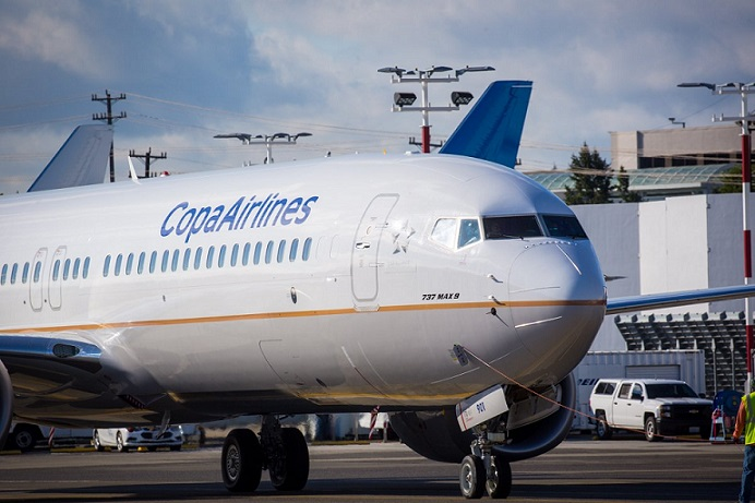 Copa Airlines suspende temporalmente flota MAX9.