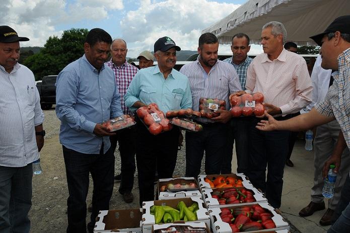 Gobierno impulsará producción agrícola en San José de Ocoa.