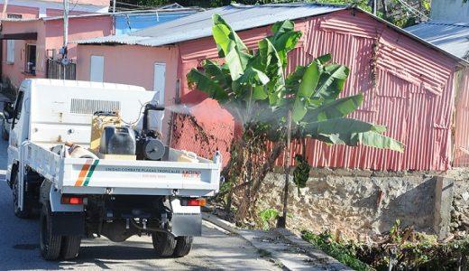 MSP fumiga contra el dengue en Los Alcarrizos.