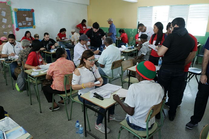 Organizaciones realizan jornada médica cardiovascular en Montecristi.