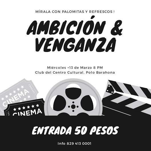 Plataforma Juvenil de Polo presenta film Ambición y Venganza.