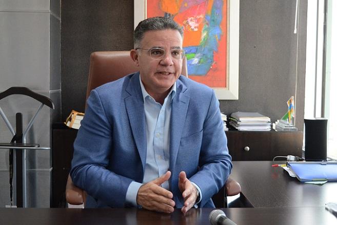 Presidente de CONEP, Pedro Brache.