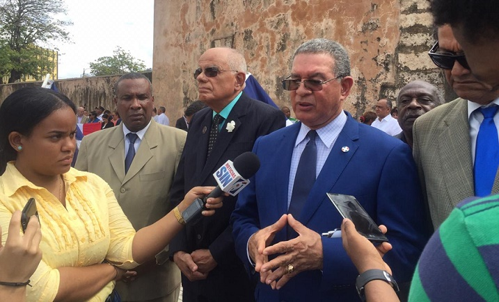 Wilson Gómez Ramírez, presidente en funciones del Instituto Duartiano.
