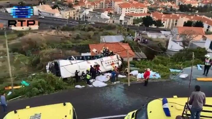 Accidente de tránsito deja 28 muertos en Portugal.