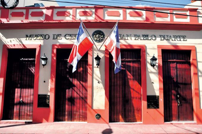 Casa-museo del padre de la Patria Juan Pablo Duarte.