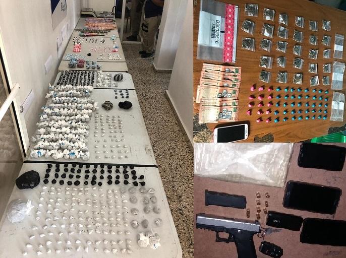 DICAN incauta drogas y detiene personas en operativos.