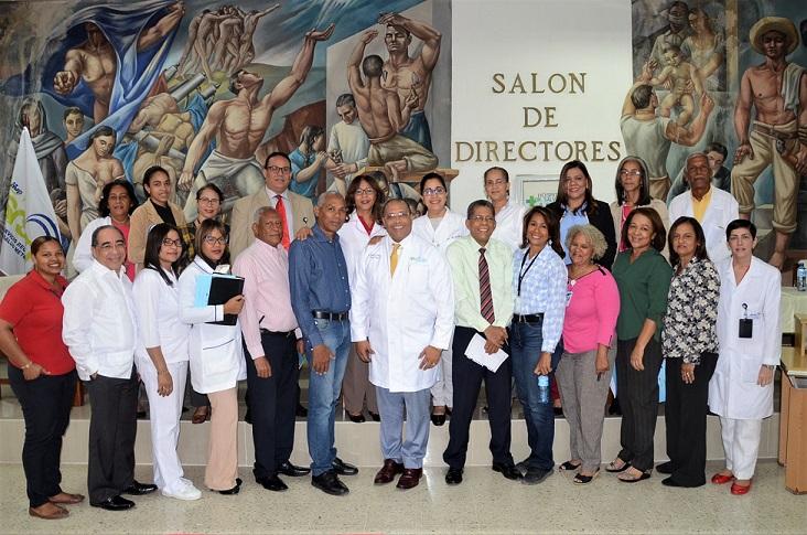 Dirección del Hospital Salvador B. Gautier comité de emergencia.