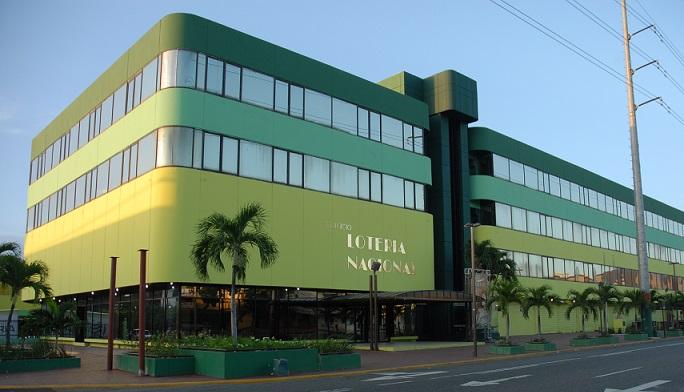 Lotería Nacional edificio sede.