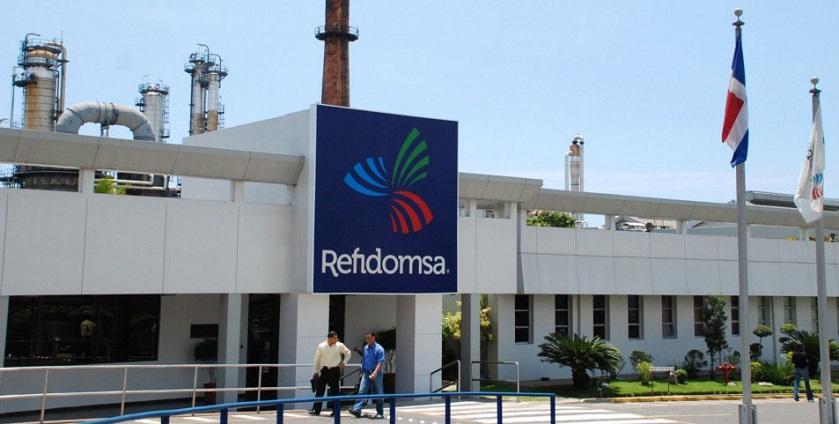 Refinería Dominicana de Petróleo REFIDOMSA fachada.