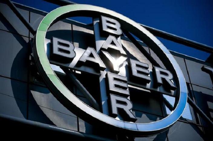 Logo del grupo químico y farmacéutico alemán Bayer.