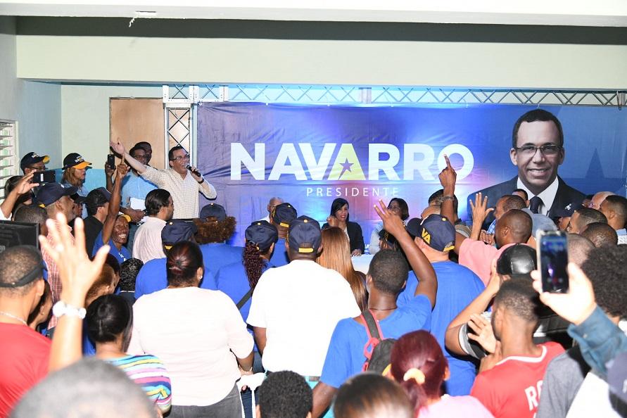 Andrés Navarro PLD renovará confianza dirime conflictos.