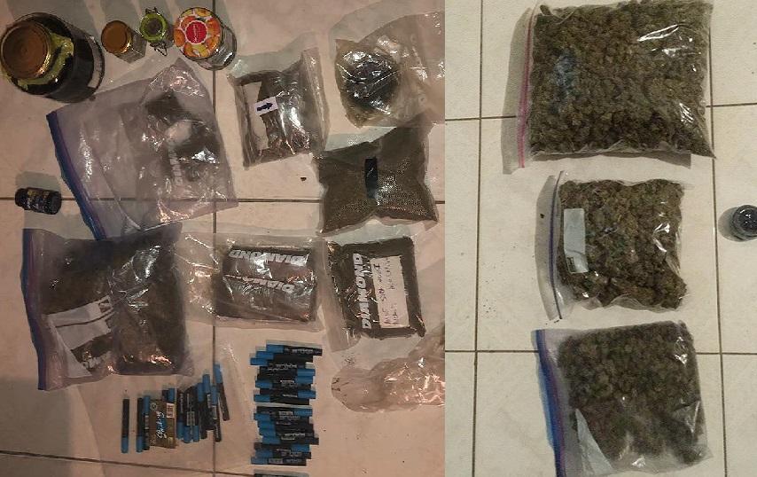 DNCD desmantela laboratorio de marihuana en Baní.