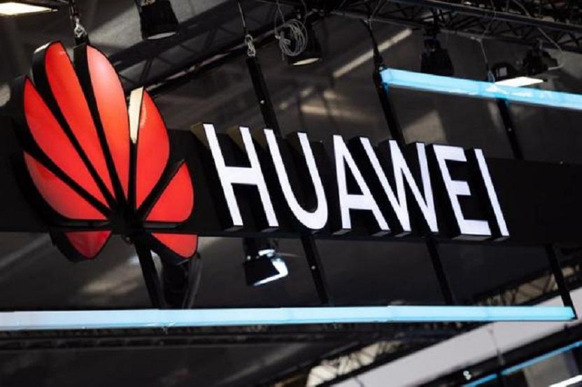 Logotipo de la empresa china Huawei.