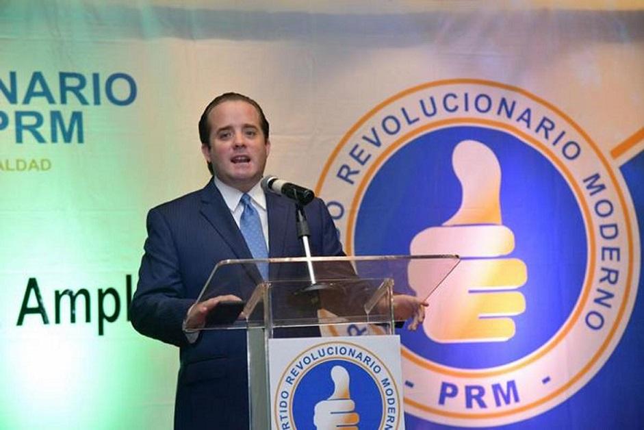 José Ignacio Paliza diputado y presidente del PRM.