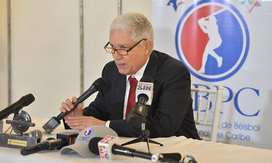 Juan Puello Herrera, Comisionado de Béisbol del Caribe en últimos 28 años.