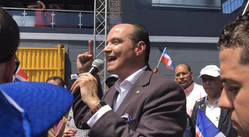 Ramfis Domínguez Trujillo, candidato presidencial independiente.