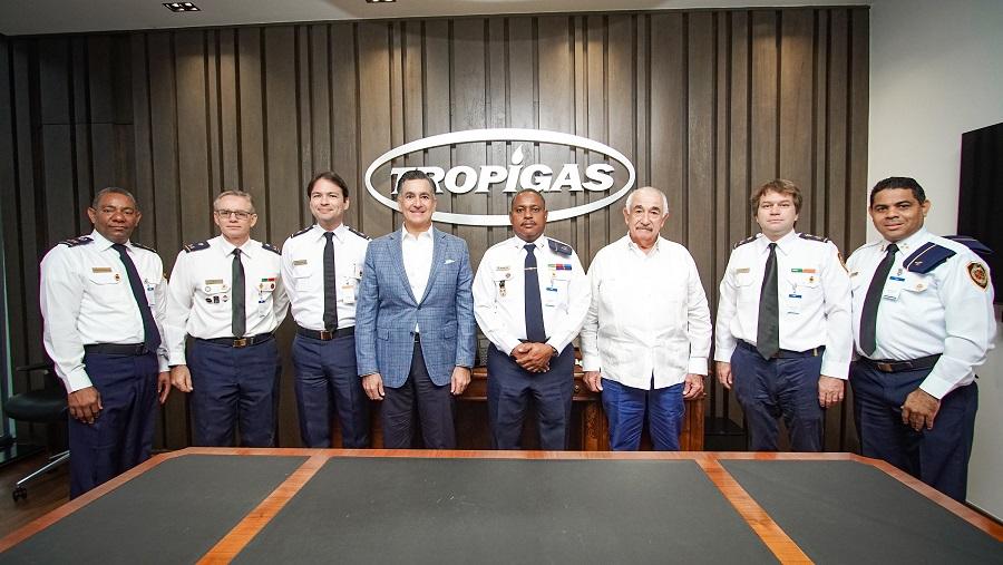 Grupo Martí y Cuerpo de Bomberos acuerdo seguridad.
