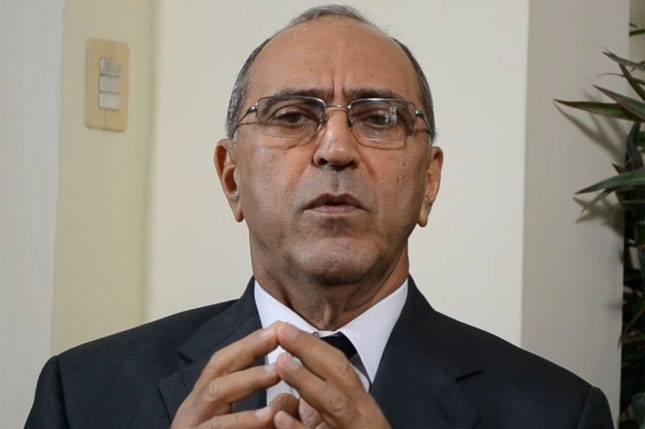 Guillermo Caram vicepresidente del PRSC habla.